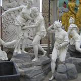 欧式人物群雕模型