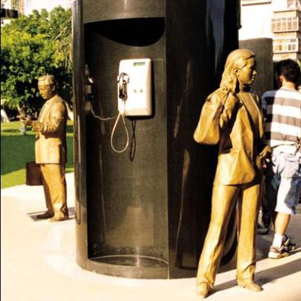民俗雕塑07